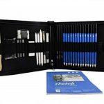 Tomkity 36PCS Crayons de Dessin Crayons Croquis Kit de Croquis Dessin avec Sac Inclus Gomme Crayon de Charbon Graphite Outils pour Dessiner de la marque Tomkity image 6 produit