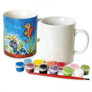 Toyrific Paint Your Own Mug • Tasse à dessiner pour adulte et pour enfant • Tasse à décorer • Tasse à personnaliser • Tasse à Peindre de la marque Toyrific image 0 produit