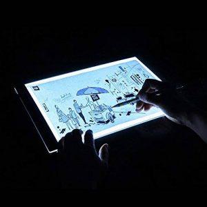 VANKER Digital Tablet a4 LED Artiste Mince Art Pochoir Tableau de Bord Light Box Pad Panneau de Dessin de la marque VANKER image 0 produit