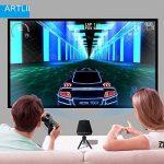 Video Projecteur Portable, Artlii Retroprojecteur Mini LED, Supporte le 1080p, Compatible iPhone / Smartphone / PC / Xbox /PS4 pour Jeux Vidéos et Films de la marque Artlii image 1 produit