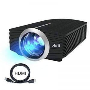 Video Projecteur Portable, Artlii Retroprojecteur Mini LED, Supporte le 1080p, Compatible iPhone / Smartphone / PC / Xbox /PS4 pour Jeux Vidéos et Films de la marque Artlii image 0 produit