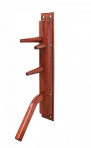 Wing Chun semicircular wooden dummy with leg de la marque dummymaker image 0 produit