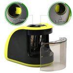 Yosun-uk Taille-crayon électrique, 2trous de diamètres, Alimenté par batterie Adaptateurs ou, pour les enfants, les étudiants, les artistes et bureau–Vert de la marque YOSUN-UK image 2 produit